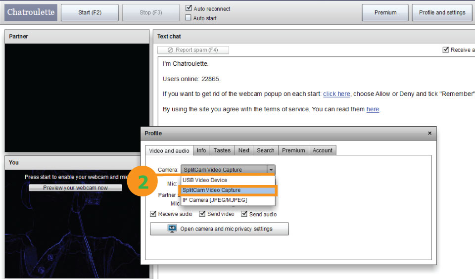 How to enable your webcam on chat roulette how to create a roulette wheel in html